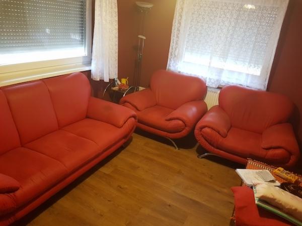 Német exkluzív ülőgarnitúra jó áron eladó!